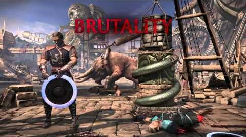 Kung Lao Brutality 3 - Spin Cycle