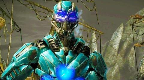 Mortal Kombat X - Triborg Cyber Sub-Zero Arcade Ladder Gameplay Playthrough-0