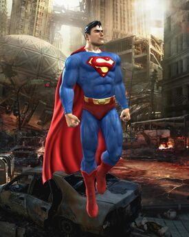 Normal Superman Render