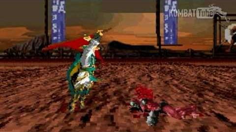GBA MK TE Raiden Weapon Fatality