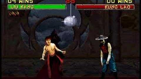 Mortal Kombat 2 Liu Kang Finishing Moves