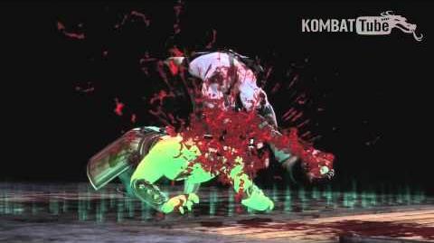 "MK9 Quan Chi ""Beat Down"" Fatality"
