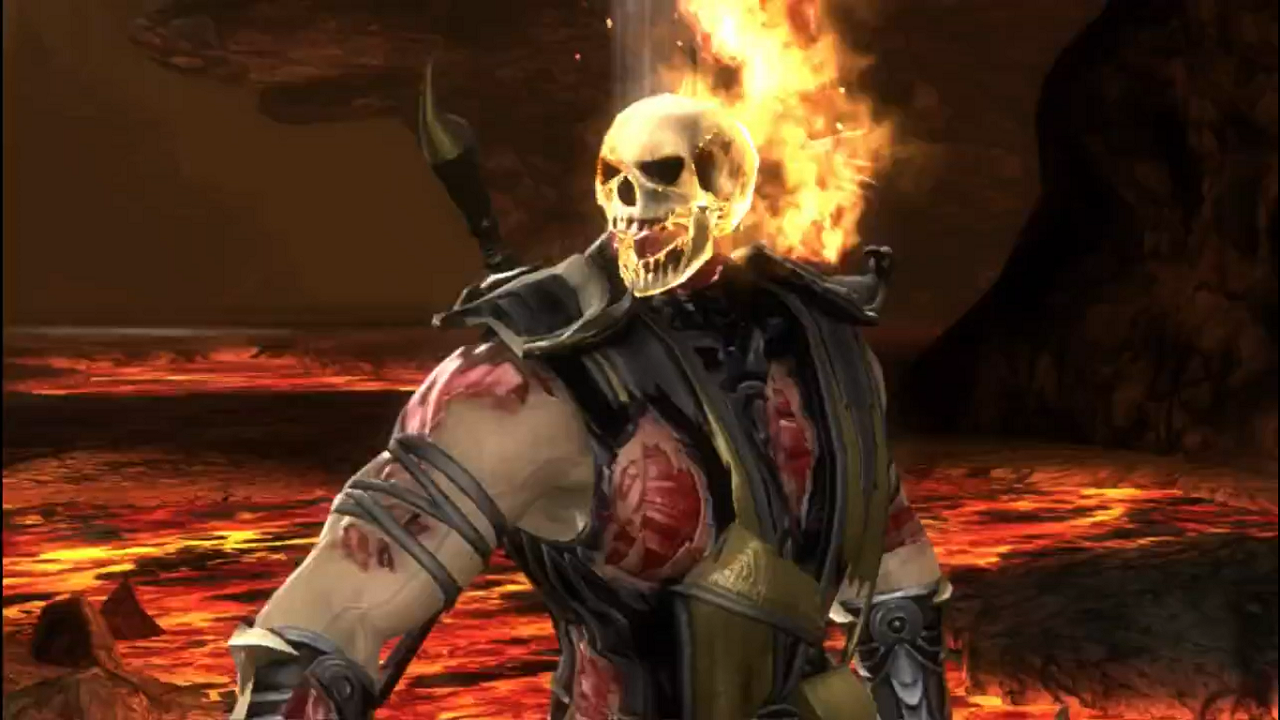 Mortal kombat scorpion spear