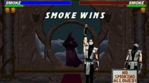 Mortal Kombat Trilogy - Friendship - Human Smoke