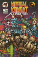 MK Special Forces Issue 2 Cover