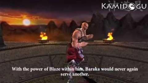 Mortal Kombat Armageddon Baraka's Ending