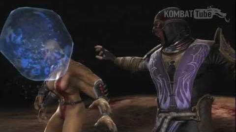 MK9 Rain Bubble Burst Fatality