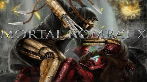Mortal Kombat X Female Cyborg