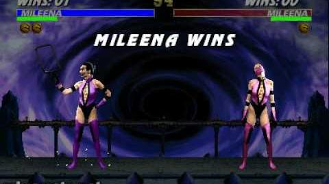 Ultimate Mortal Kombat 3 - Friendship - Mileena
