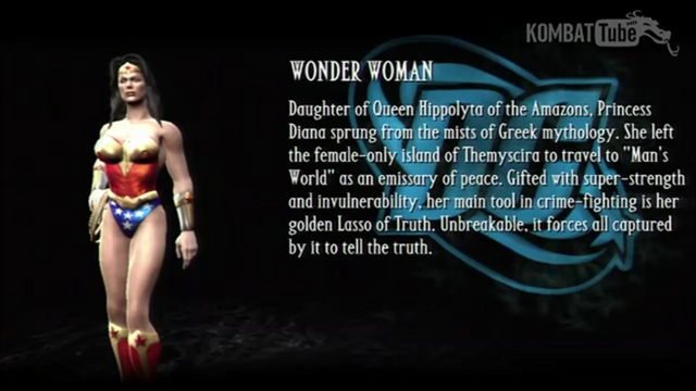 File:Wonder Woman's Bio from Mortal Kombat vs DC Universe.png
