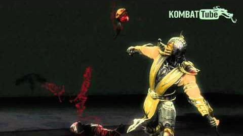 "MK9 Scorpion ""Split Decision"" Fatality"