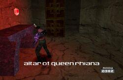 Altar of Queen Rihiana