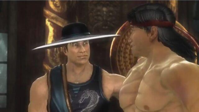 File:Kung Lao congratulates Liu Kang.JPG