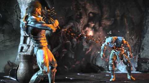 MKX Takeda Head Cage Fatality