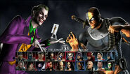 VS Screen Joker vs Deathstroke
