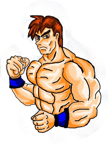 File:Mortal Kombat ll Arcade Art Johnny Cage.png