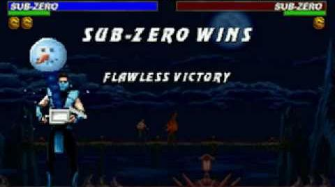 Mortal Kombat Trilogy - Friendship - Classic Sub-Zero