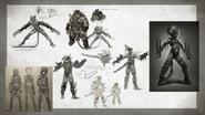 MKX Ferra & Torr Concept Art 4
