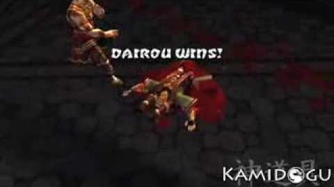 "Mortal Kombat- Deception - Dairou's ""Back Breaker"" Hara-Kiri"