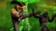 Nightwolf VS Noob Saibot