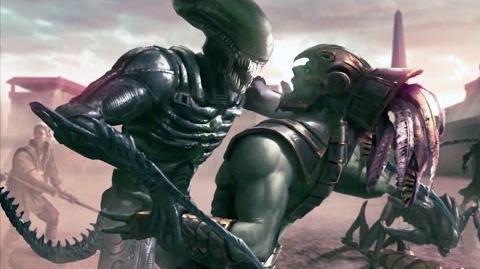 Mortal Kombat X-Alien Ending