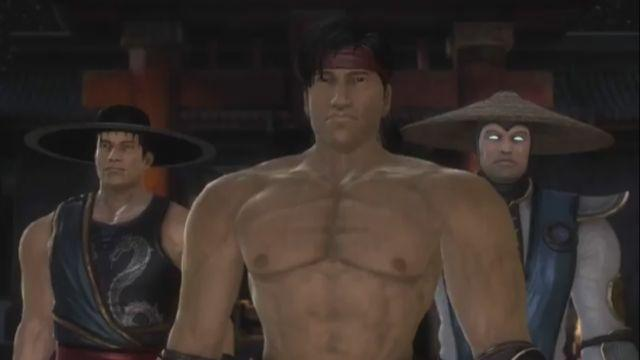 File:Kung Lao, Liu Kang and Raiden.jpg