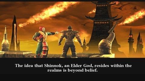 Mortal Kombat Armageddon - Konquest Walkthrough Pt 7 11 - Netherrealm Cliffs
