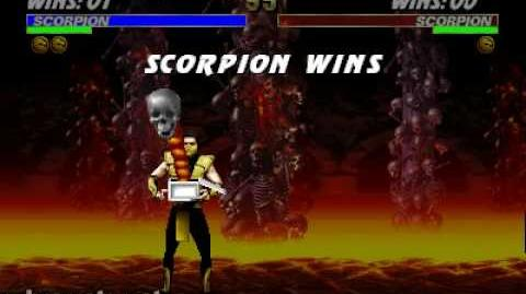 Ultimate Mortal Kombat 3 - Friendship - Scorpion-0