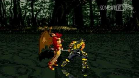 GBA MK TE Scorpion Weapon Fatality-0