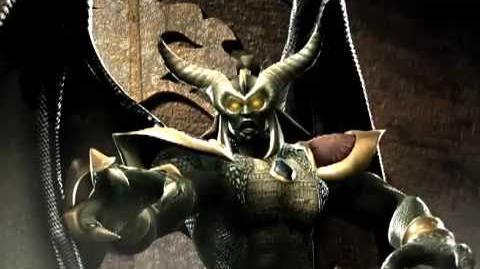 Mortal Kombat Armageddon Onaga's Kombat Card