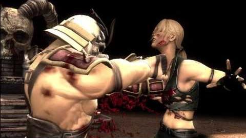 Mortal Kombat 9 - Exclusive Shao Kahn Fatality 2