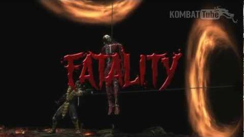 "MK9 Scorpion ""Nether-Gate"" Fatality"