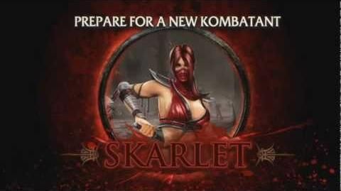 Skarlet HD Gameplay Trailer - Mortal Kombat