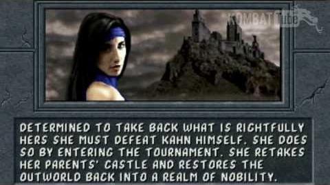 MK II Ending KITANA