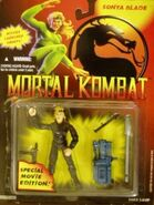Sonya Blade movie figure carded