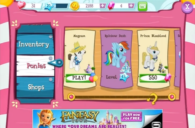 File:Magnum, Rainbow Dash, Prince Blueblood 1.0 store.png