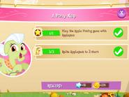 A Pony Nap tasks