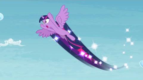 Twilight Sparkle Alas Mágicas - Despejar el Cielo. Mi Pequeño Poni La Magia de la Amistad GAMELOFT