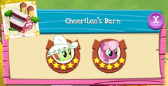 Cheerilee's Barn residents