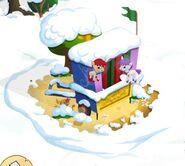 Claudes Puppet Show winter