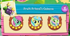 Fruit Friend's Cabana residents
