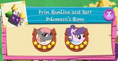 Prim Hemline and Suri Polomare's Home residents