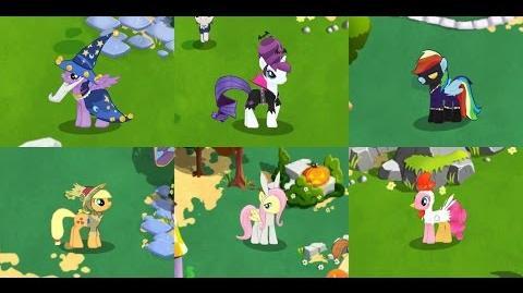 La Noche de Nightmare Moon en Gameloft con Huevito My Little Pony Friendship is Magic MLP FiM