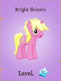 Bright Unicorn Locked