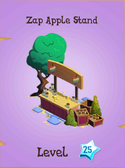 Zap Apple Stand Store Locked