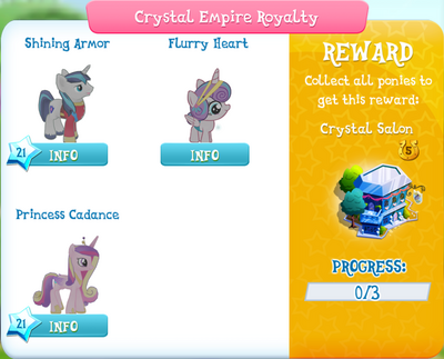 Crystal Empire Royalty