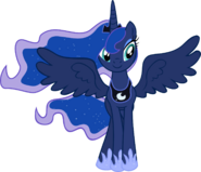 Princess Luna vector