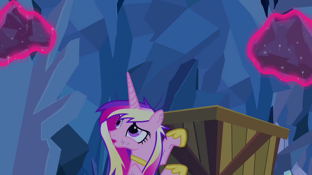 File:Cadance looking at rocks levitated S2E26.png