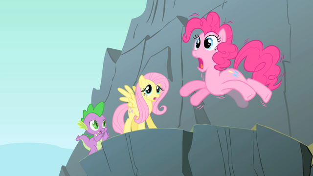 File:Pinkie Pie on the edge of a cliff S1E15.png
