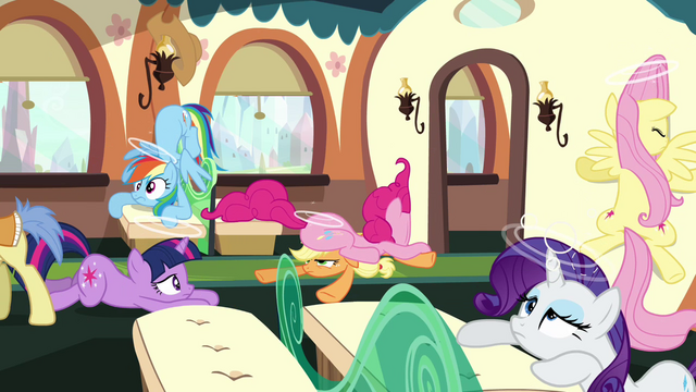 File:The Main six fall over when train stops S3E12.png